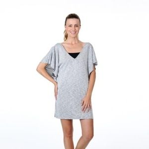 Dotti S Gray Swimsuit Coverup